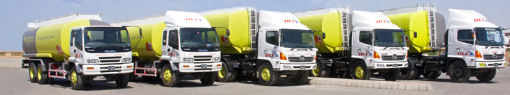 Branded Tank Lorries